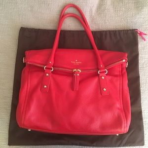 Gorgeous Authentic Kate Spade Satchel - Cherry Red